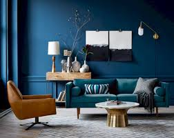 70 vintage and elegant indigo textile living room decor ideas