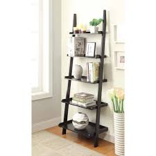 furniture bookshelf with ladder folding bookshelf short