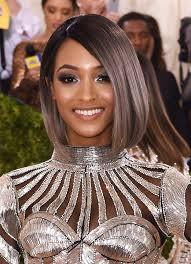 jordan dunn silver hair met gala 2016 makeup breakdown met gala ombre and jourdan dunn