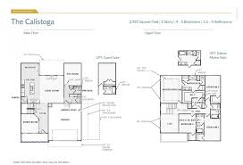 5 Bedroom Floor Plans 2 Story The Calistoga Kansas City Home Builders
