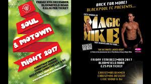 Christmas Party Ticket 2017 Christmas Party Tickets On Sale News Blackpool Fc