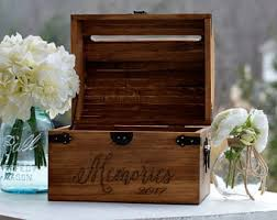 wedding gift keepsake box letter box etsy