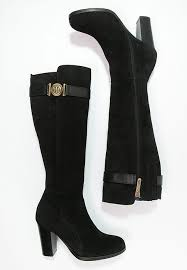 womens boots barcelona sales hilfiger black barcelona boots for womens