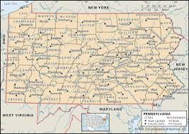 Gettysburg Pennsylvania Map by Historical Facts Of Pennsylvania Counties Guide