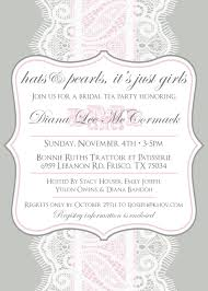 custom lace and pearls party bridal shower invitation papier