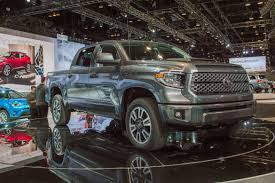 toyota truck dealerships the 2018 toyota tundra trd brings new sport and technology to the