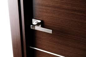 Designer Interior Door Handles A Beautiful Door Handle Of Modern Design Contrasts Nicely With