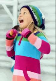 Excited Girl Meme - super excited gifs reaction gifs
