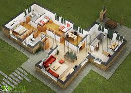 two bed room house 50 four 4 bedroom apartment house plans bedrooms 3d interior