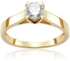 pierscionek zareczynowy pierścionek zaręczynowy golden tulip 0 50 ct certyfikat z