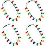 christmas light necklace jumbo bulbs christmas lights necklace set of 12