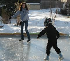Backyard Ice Rink Kits by Musings From Kim K Last Backyard Ice Skate Of 2013