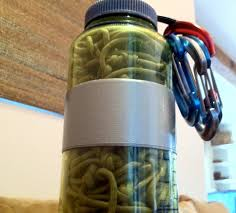 multiuse paracord hammock in a nalgene 11 steps with pictures