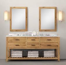Restoration Hardware Bathroom Cabinets Logan Double Washstand Restoration Hardware Love The Style