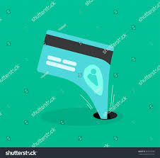 Identity Theft Red Flags Abstract Identity Theft Money Outflow Fraud Stock Vector 365418938