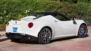 alfa romeo spider 2017 car of the year 2016 13 alfa romeo 4c spider u2013 robb report