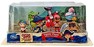 amazon disney jake neverland pirates figurine playset