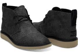 charcoal herringbone men u0027s mateo chukka boots toms