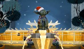 wars christmas card the adorable wars animated christmas card scifinow