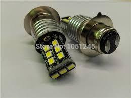 Led H6 2x H6 Led 3535chip 15smd High Power Bulb Motor Light L Car Bike