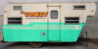 exterior paint design concept the comet camper