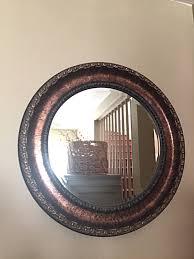 large round mirror bathroom mirror round bronze mirror