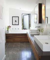 Narrow Bathroom Designs Narrow Bathroom Design Ideas With Drop In Tub House Narrow