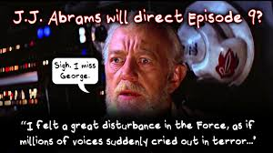 Lucas Meme - abrams and star wars ep 9 sigh i miss george lucas actual
