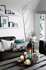 dekorieren wohnzimmer wohnzimmer schwarz weiß dekoriert kogbox