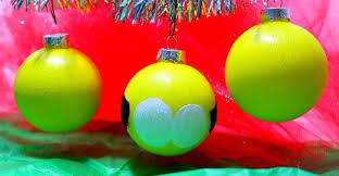 minions diy ornaments thirtysomethingsupermom