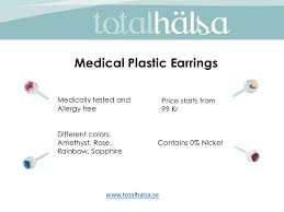 blomdahl earrings total halsa blomdahl caring jewelry