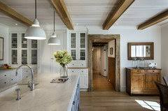 white kitchen cabinets with wood beams kitchen exposed beams with cabinets