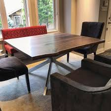 Walnut Dining Room Table Live Edge Dining Room Tables Toronto