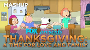 thanksgiving cartoon jokes thanksgiving a time for love and family fox broadcasting youtube