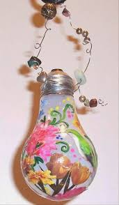 painted light bulb design ideas arts and crafts projects