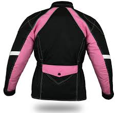ladies motorcycle gear australian bikers gear jazz pink cordura waterproof armoured