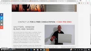 desert blind and shutter repair youtube