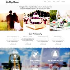 Wedding Planner Websites Wedding Planner Templates Templatemonster