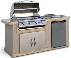 Backyard Grill 4 Burner Gas Grill by Cal Flame Outdoor Kitchen Islands 4 Burner Built In Propane Gas