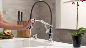 brizo faucets kitchen brizo articulating kitchen faucet