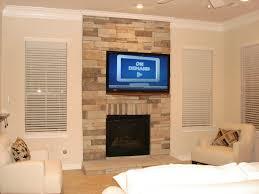 fireplace tv mount binhminh decoration