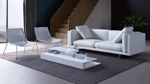 Viewpoint Leather Sofa by Modern Furniture In Greater Boston Italmoda Furniture Store