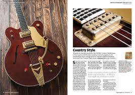 the september issue of the guitar magazine is out now the