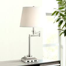 table lamps nolan industrial table lamp with usb port bedside