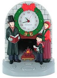 musical carol clock home kitchen