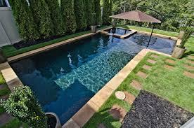 in ground pool options fiberglass or concrete pools