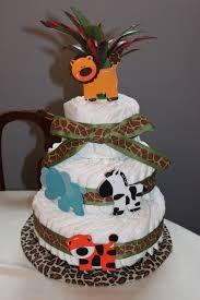 jungle safari diaper cake id 152062 u2013 buzzerg