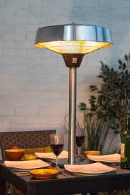 halogen patio heaters tabletop halogen electric heater la hacienda