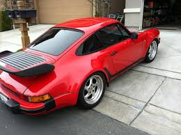 1990 porsche 911 red porsche 911 84 factory turbo wide body m491 rennlist porsche