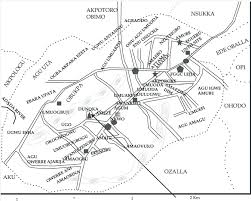 sketch map of lejja the site is shown by an arrow source